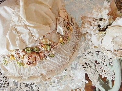 Work Ready ribbon hat - England, France and antique shops Eglantyne (Egurantinu)