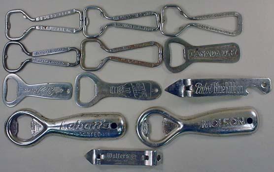 Vintage  beer  bottle openers