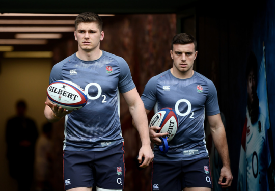 Owen Farrell and Ford