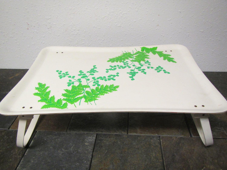 Vintage Lap Tray With Folding Legs Tv Tray Breakfast In Bed Tray Fiberglass Tray Lap Tray Bed Tray Breakfast In Bed