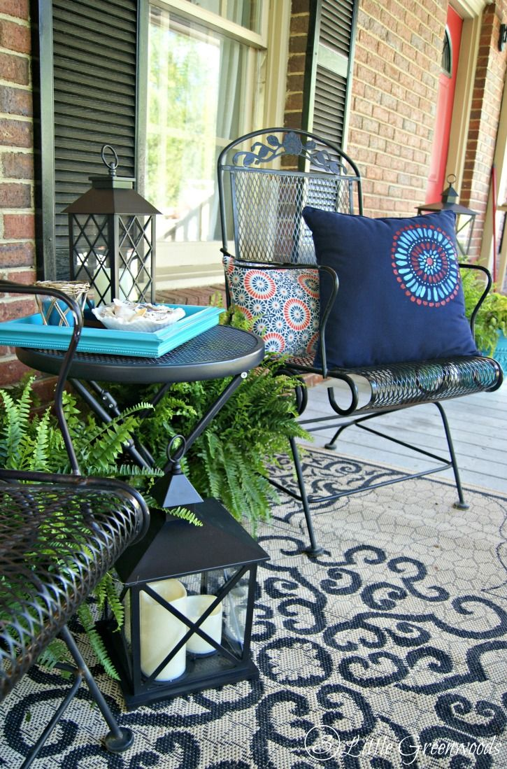 Refresh your Home with Southern Front Porch Decorating ...