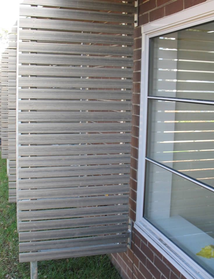 Silver Gum Screen For Hospital Privacy Modwood 88mm Screen