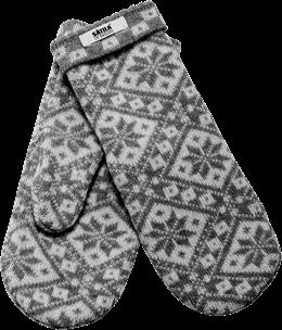 Vantar i lammull. Gammalt klassiskt nordiskt mönster. Stickad i Sverige!