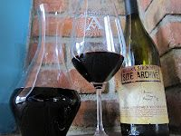 I opened a bottle of Arizona Stronghold's Site Archive Syrah to celebrate Arizona turning 100 this year.  Cheers!  It was good stuff, excellent job to the winemaker, Tim White.