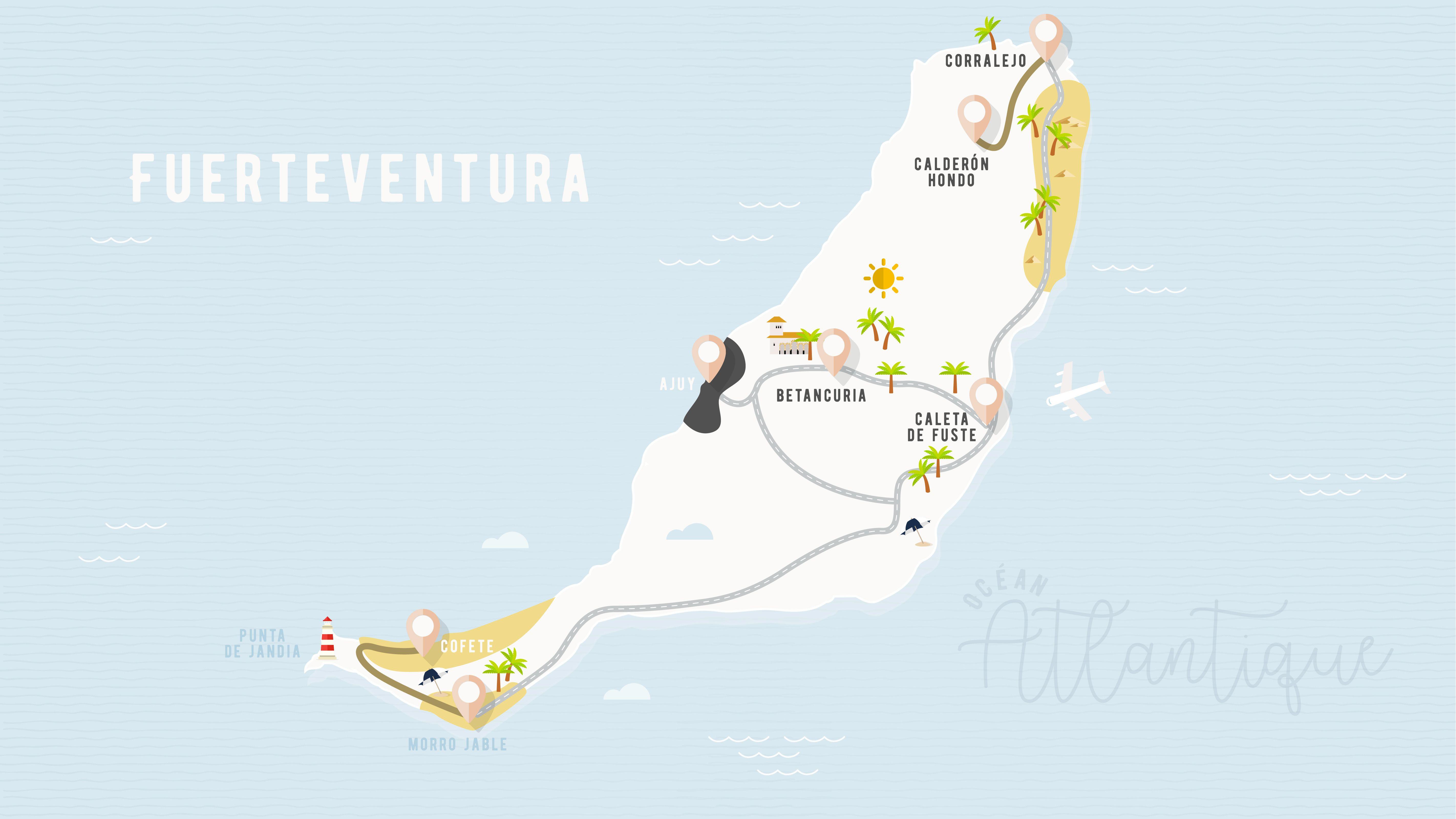 Fuerteventura Une Semaine Sur Une Ile Des Canaries