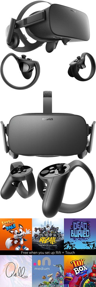 239dcbf6e0a9 PC and Console VR Headsets  Oculus Rift + Touch Virtual Reality System -   BUY
