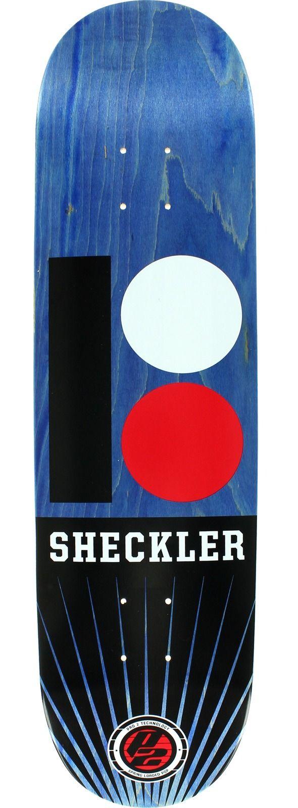 Plan B Skateboards Ryan Sheckler P2 OG RMX Skateboard Deck ...