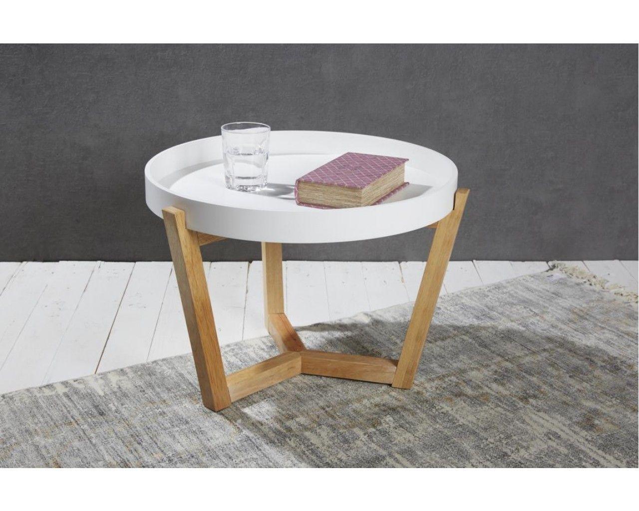 Tablett Tisch Rund Aus Holz Top Design Hier In 2020 Holztisch Ausziehbar Holztisch Baumstamm Tisch