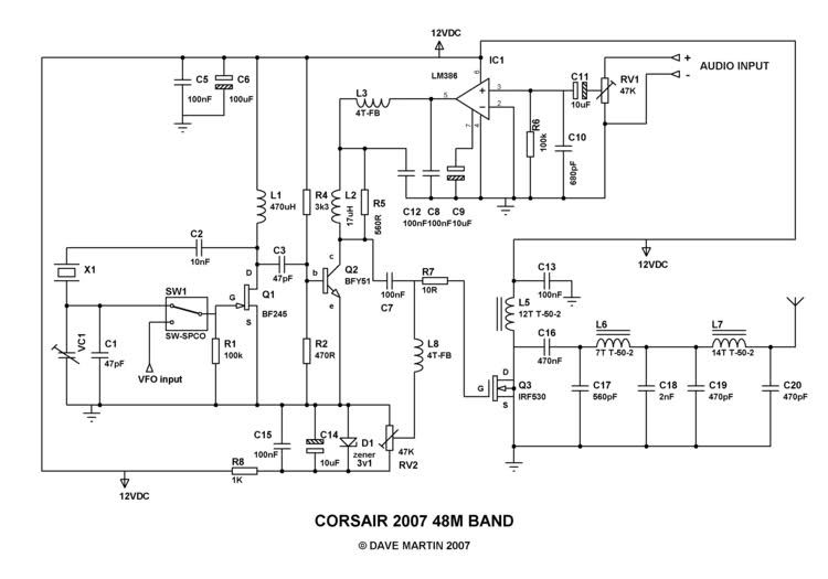 AM/FM Transmitter schematics from simple to hard   | Free Radio