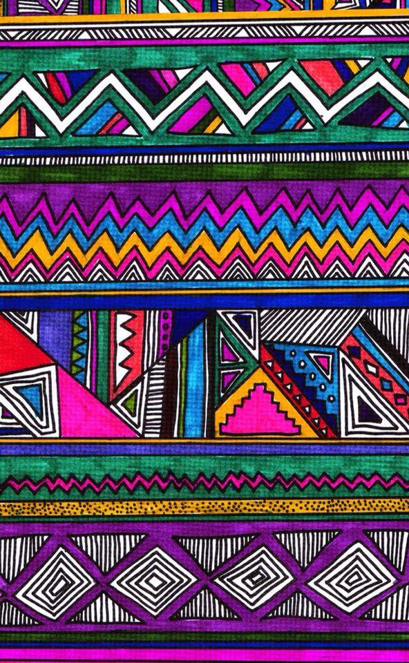 Iphone Wallpaper Pattern Art Aztec Wallpaper Tribal Patterns