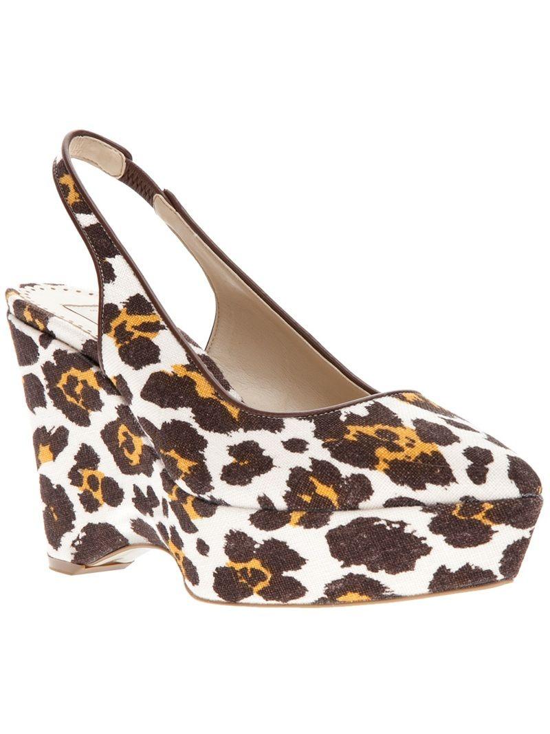 STELLA MCCARTNEY 'Jane' wedge shoe