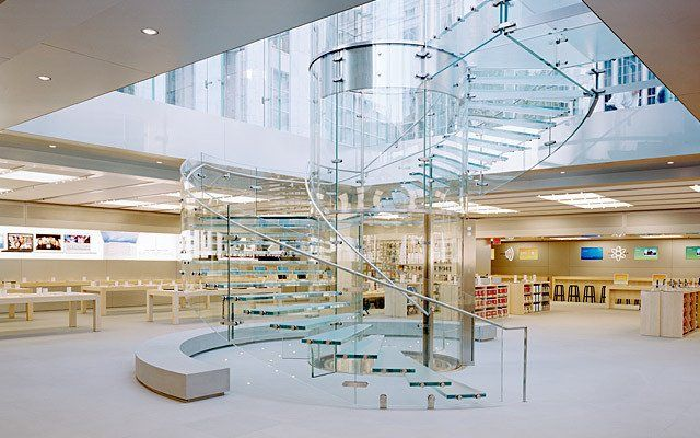 Apple Store Fifth Avenue Picture Gallery Apple Store Interior Apple Retail Store Store Design Interior