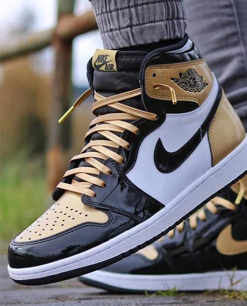 Nike Air Jordan 1 Shoelace Size Guide