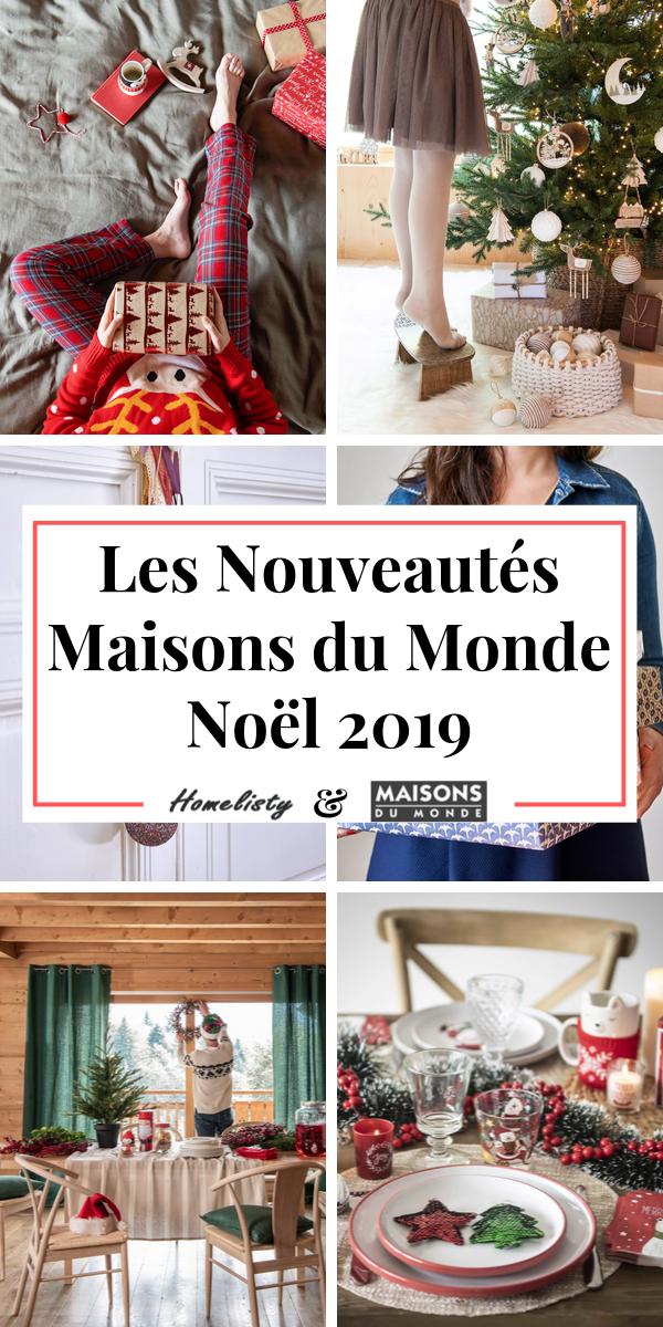 Maisons Du Monde Catalogue Noel 2019 Deco Sapin Table
