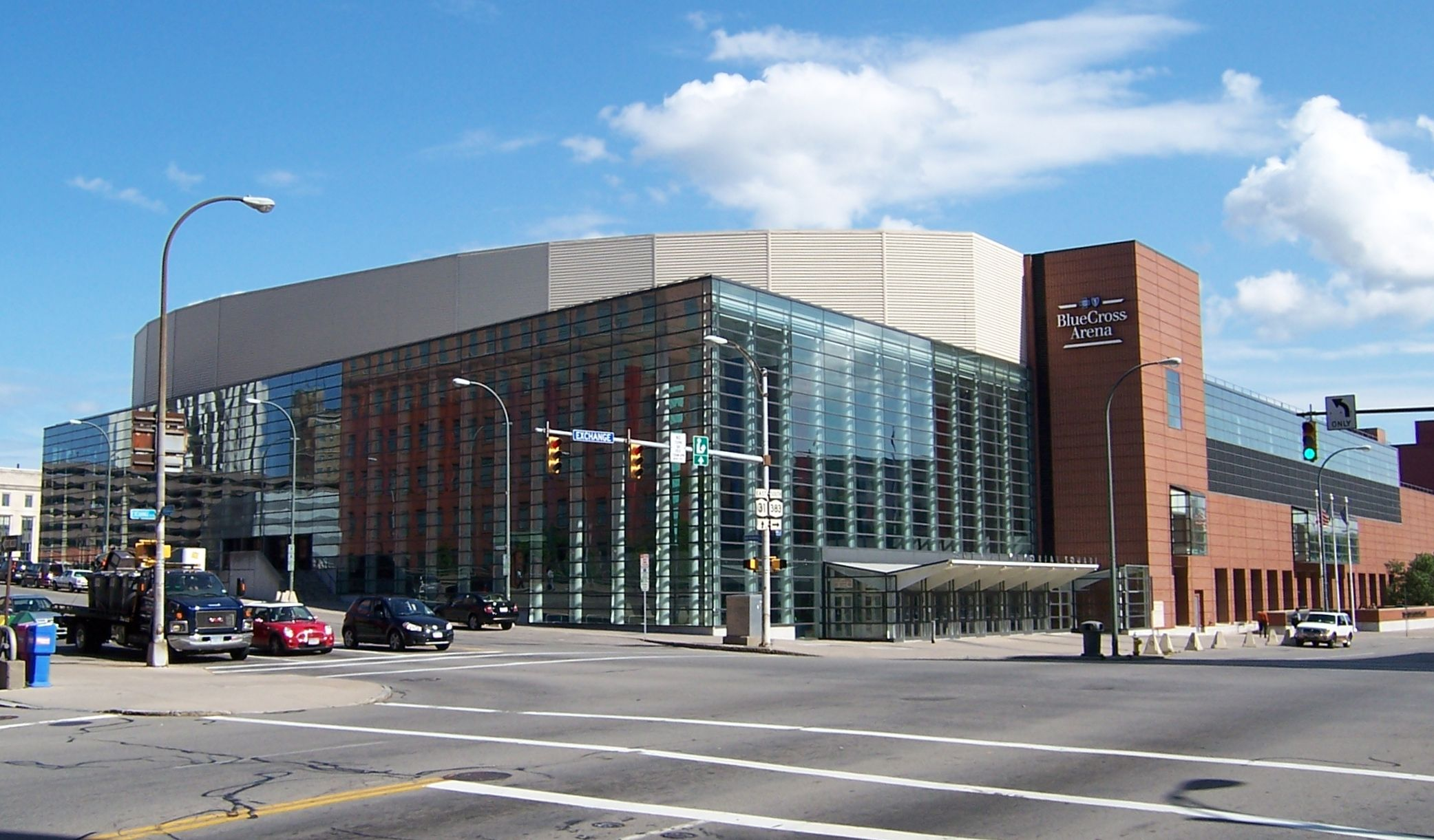 1 bedroom apartments for rent in rochester ny%0A The Blue Cross Arena at the War Memorial  Rochester  NY   Home of