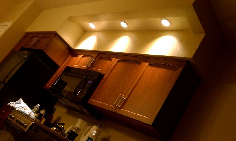 Lights above cabinets Rope light? (With images) | Above ...