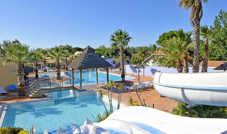 Les Mediterranees Nouvelle Flouride - The campsite provides families - camping a marseillanplage avec piscine