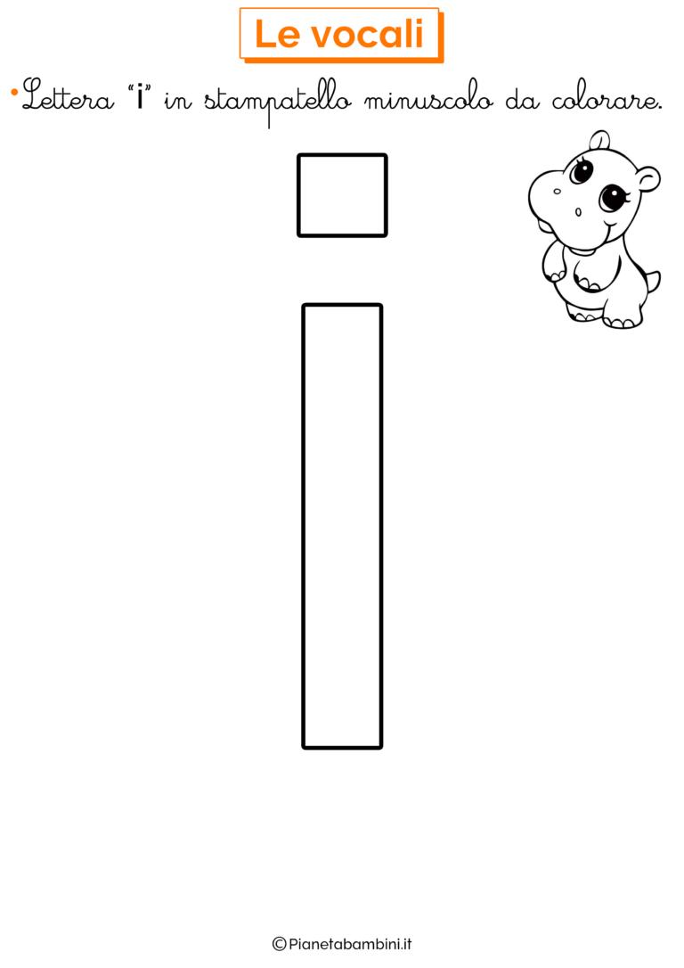 Lettere Alfabeto Da Copiare vocali da colorare per bambini | immagini di scuola