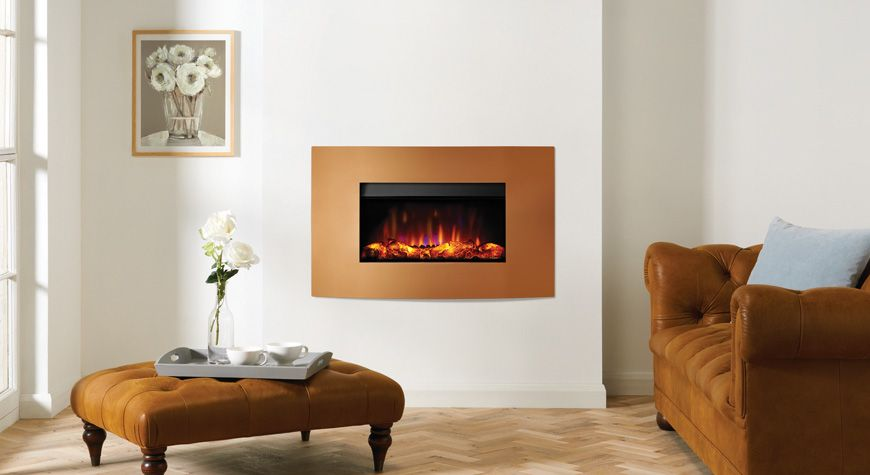 Riva2 670 Electric Verve XS Fires - Gazco Fires