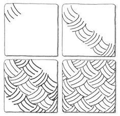 Drawing step by step design zentangle patterns 25+ ideas