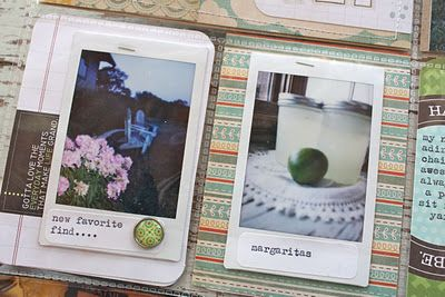 using INSTAX photos / also text msgs.