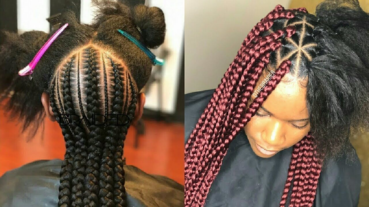 Amazing African Hairstyle Braiding Compilations 2018 Youtube Hair Styles African Braids Hairstyles Pictures African Hairstyles