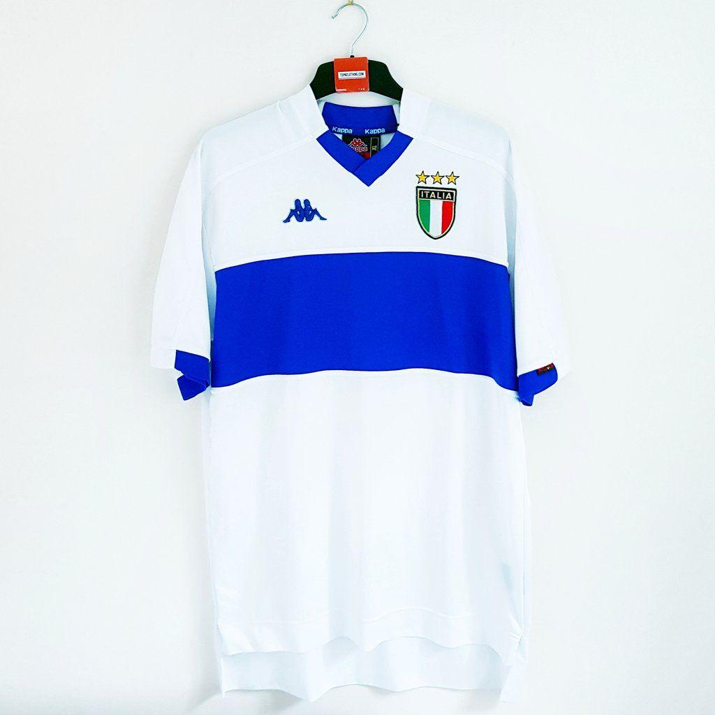 Football 2000Kits 1998 Italy Away Shirt bY76fgy