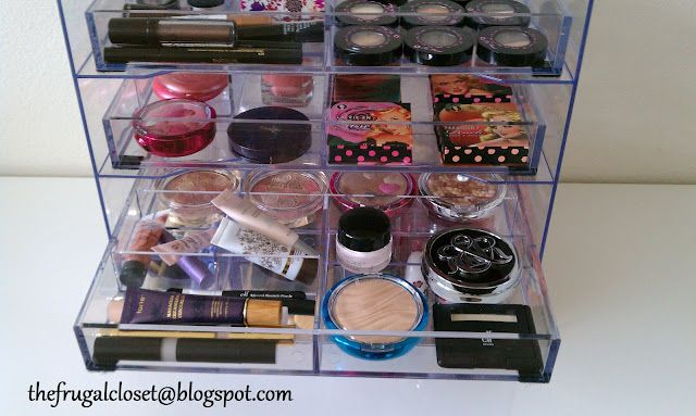 Do it yourself makeup organizer diy projects pinterest makeup do it yourself makeup organizer solutioingenieria Choice Image