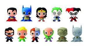 DC Heroes Serie 1 Figurales Llaveros