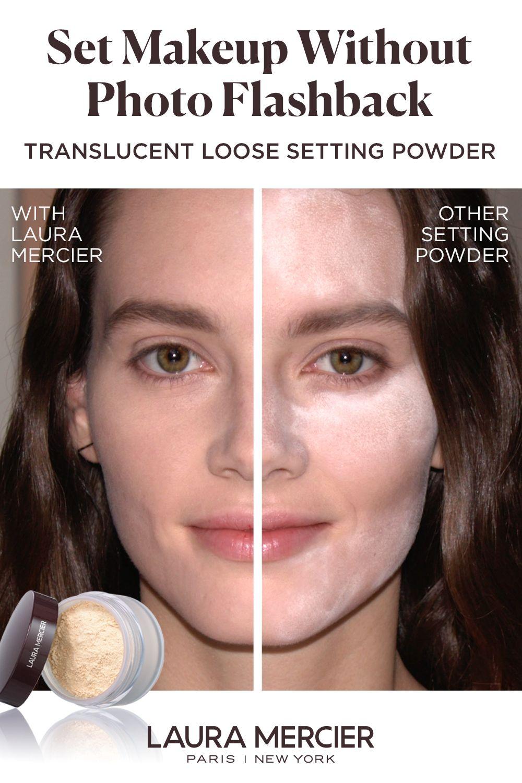 Translucent Loose Setting Powder Laura Mercier In 2020 Setting Powder Translucent Loose Setting Powder Brightening Powder