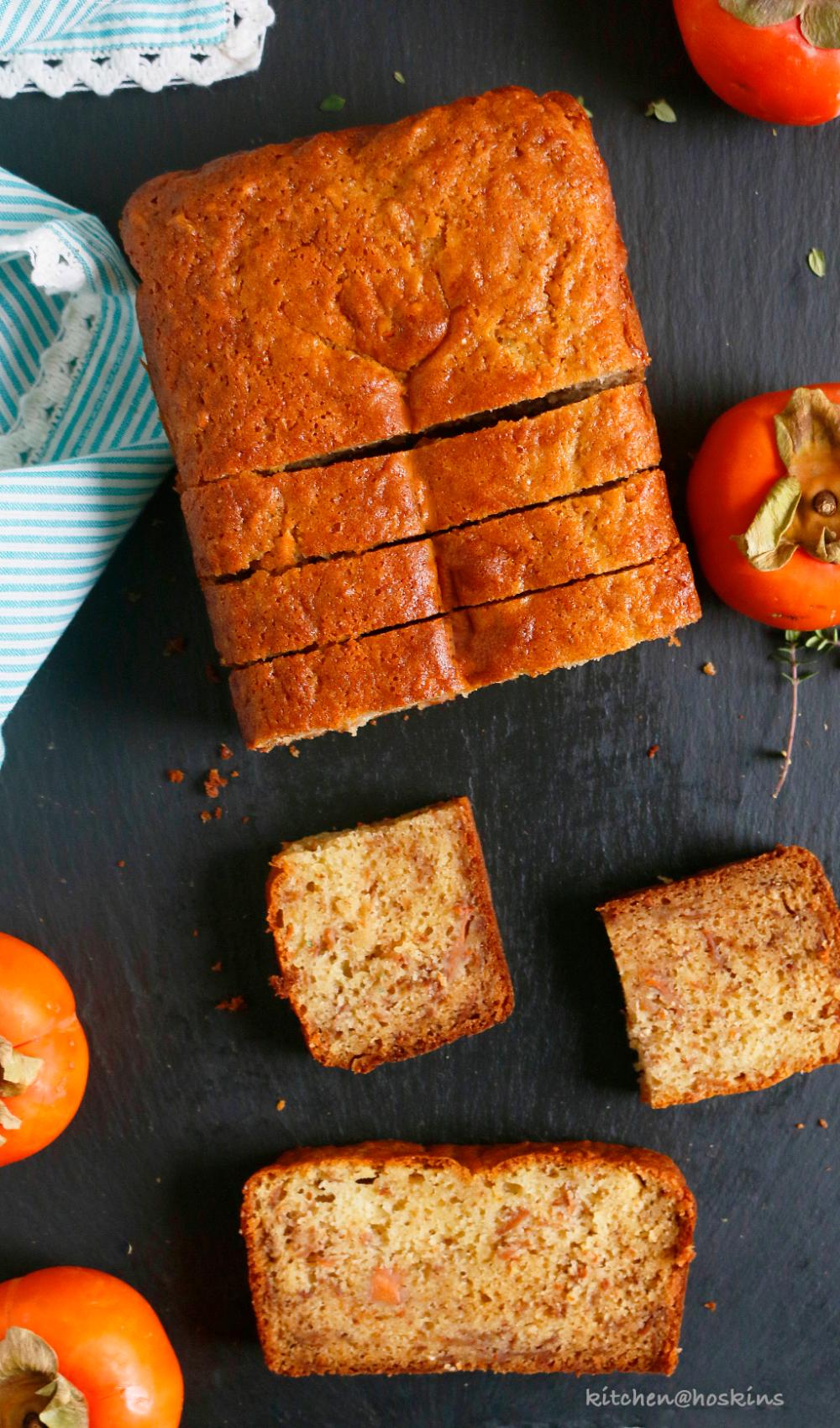 Healthyish Persimmon Bread Kitchen Hoskins Recipe in