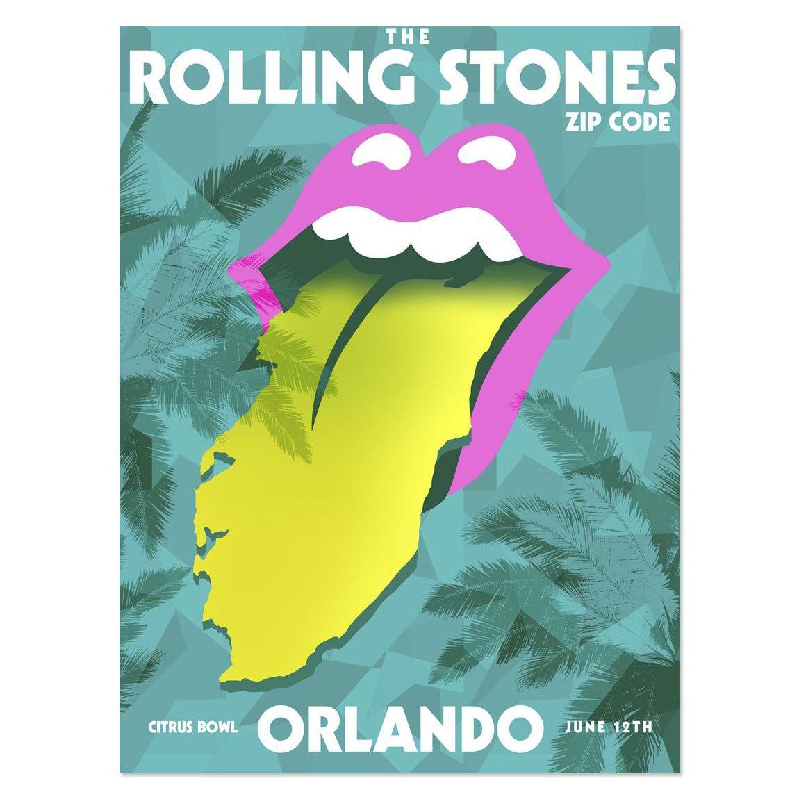 Orlando FL USA June Rolling Stones Live Show Updates - Us zip code aa
