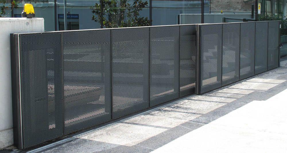 Double sliding gate design google search gate pinterest sliding gate - Double rail coulissant ...