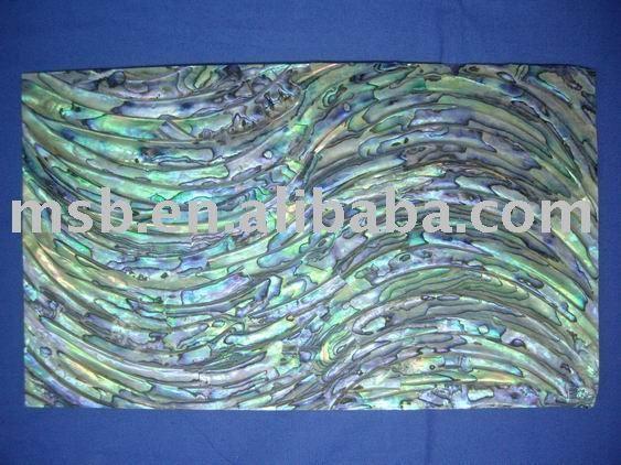 Green Blue Curve Shape Abalone Shell Paper Furniture Inlay Buy Abalone Shell Paper Paua Shell Paper Shell Paper Product Abalone Shell Inlay Furniture Abalone