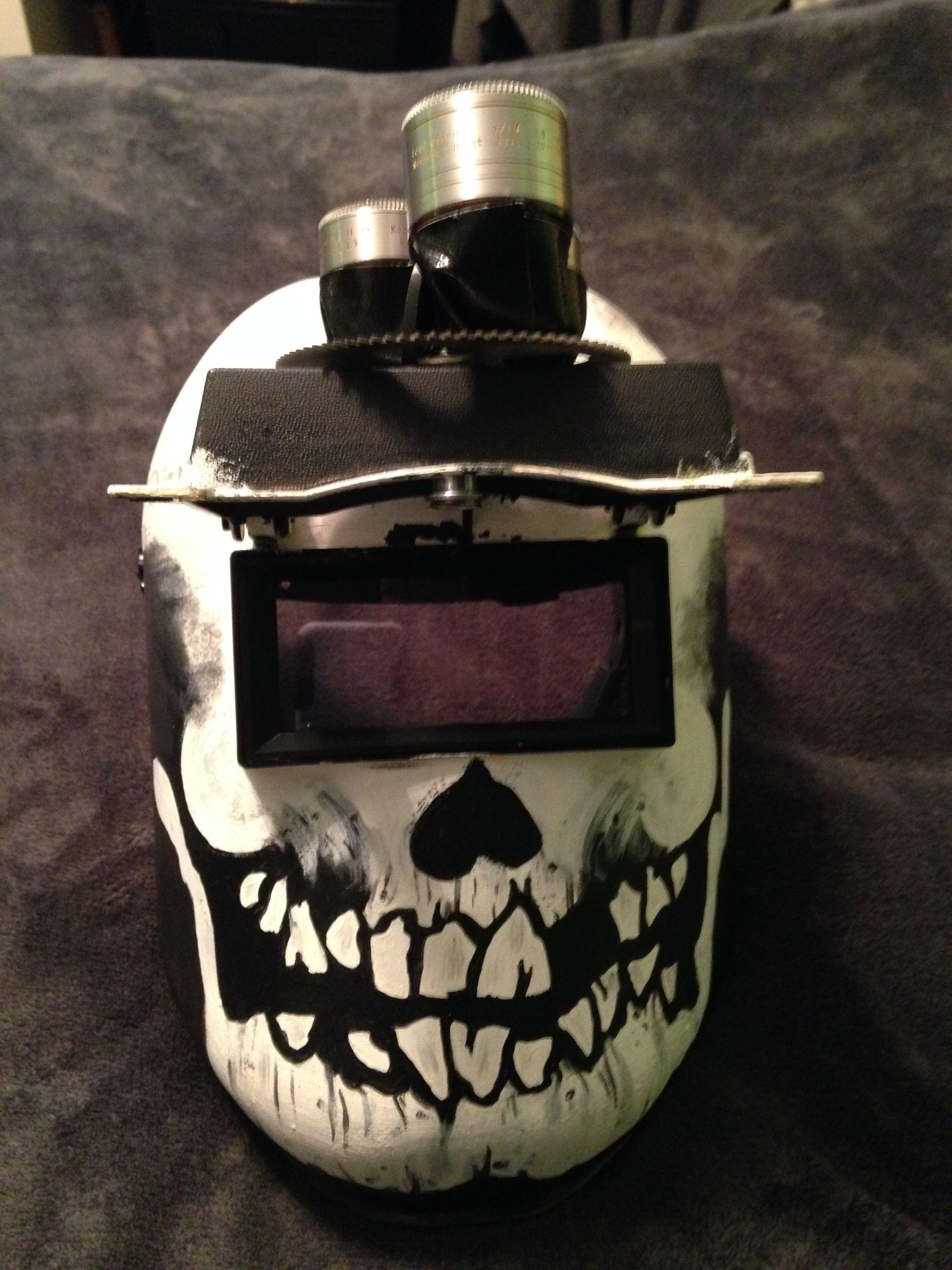 Wybie Mask w 3 lens turret up Coraline halloween costume