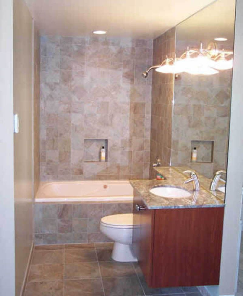 The real simplicity compact small bathroom small bath for Small bathroom upgrade ideas