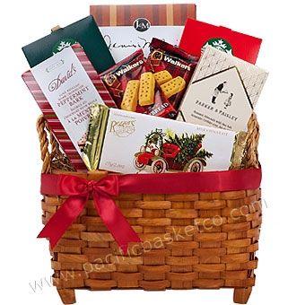 Godiva Chocolate Gift Basket Canada Christmas Gift Baskets