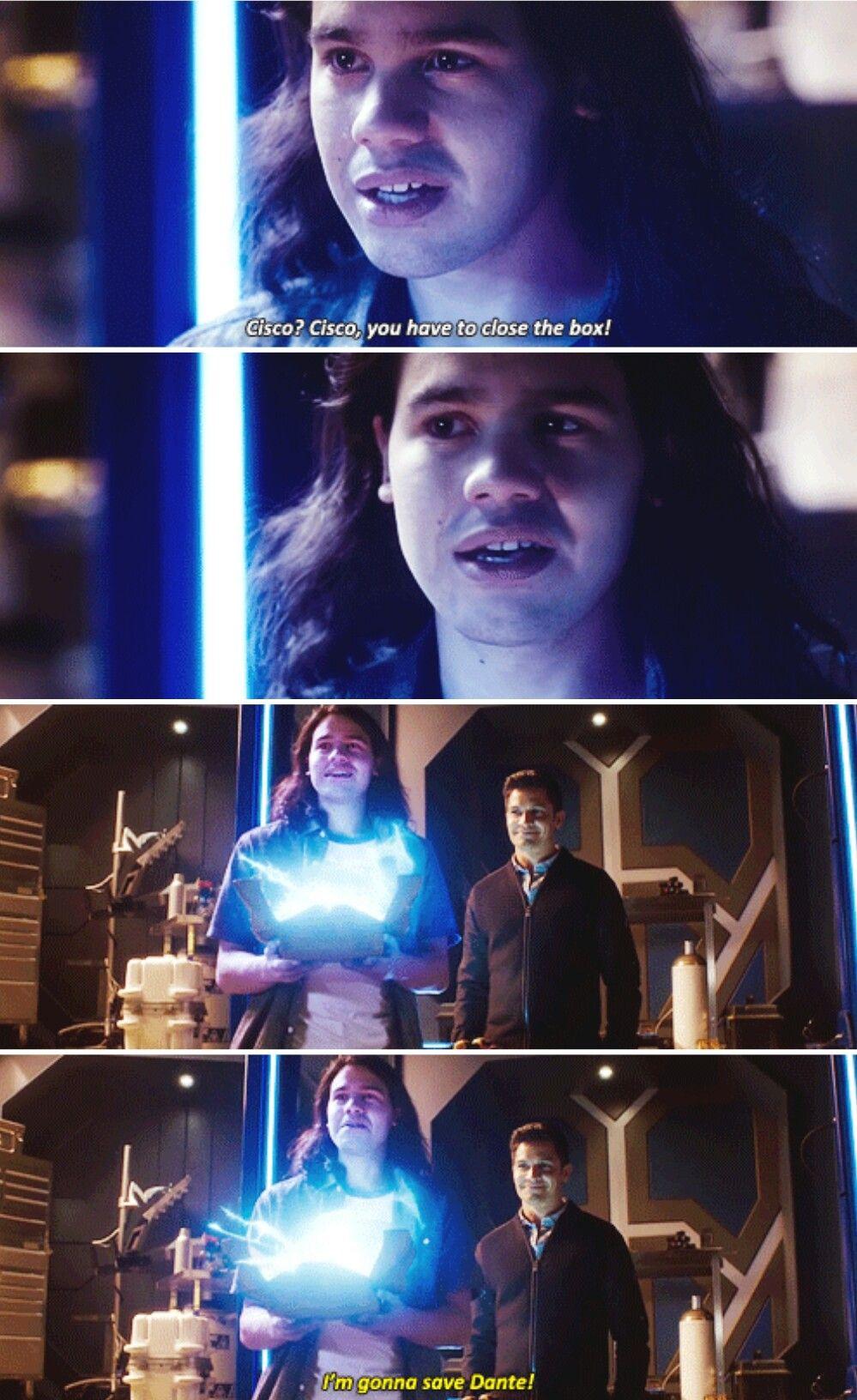 """You're a good brother, Cisco."" #TheFlash #Season3 #3x09"