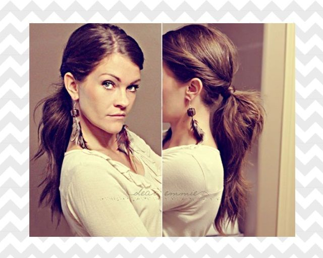 17. TIE A PONYTAIL WITH YOUR OWN HAIR  Well, technically, you'll also need bobby pins to do that (and a hair tie but that's optional). Get the steps for this hairdo over here.  Pinterest