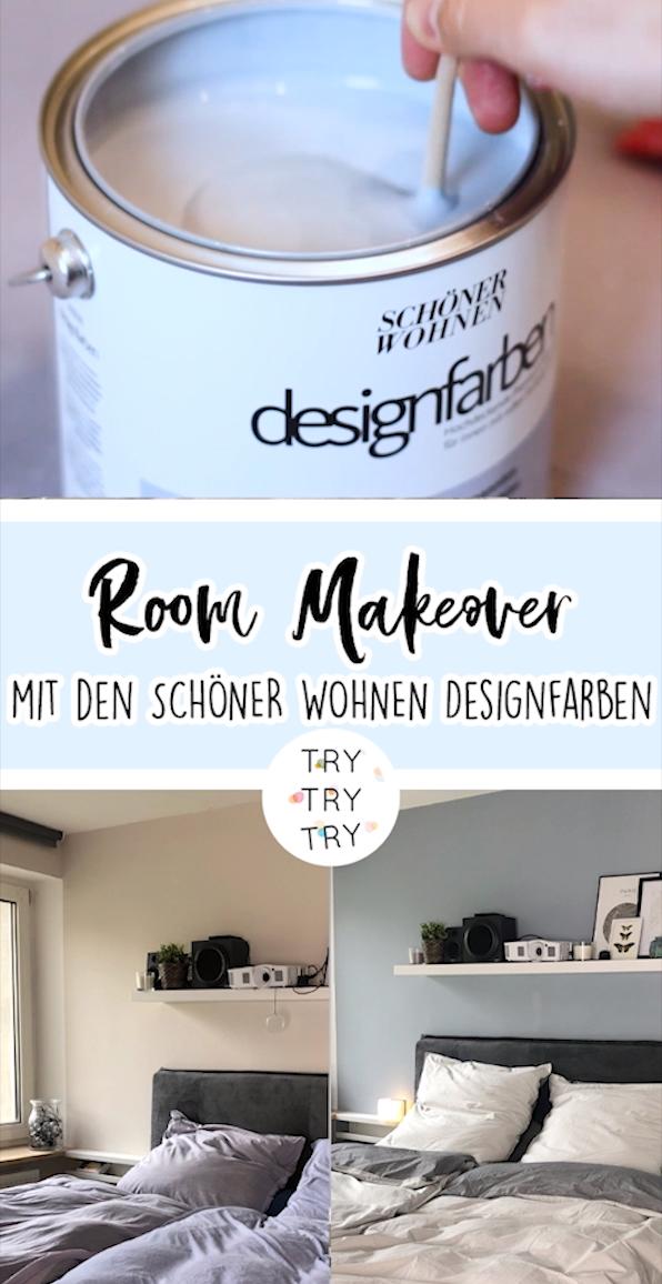 Room Makeover mit SCHÖNER WOHNEN Farbe #schönerwohnen