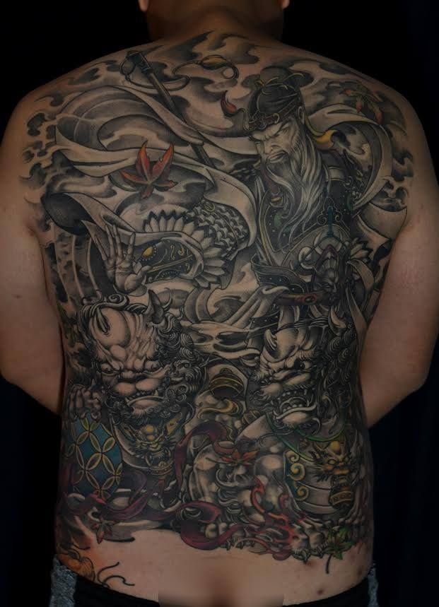 Asian Black and Grey Archives - Chronic Ink   Tiger tattoo