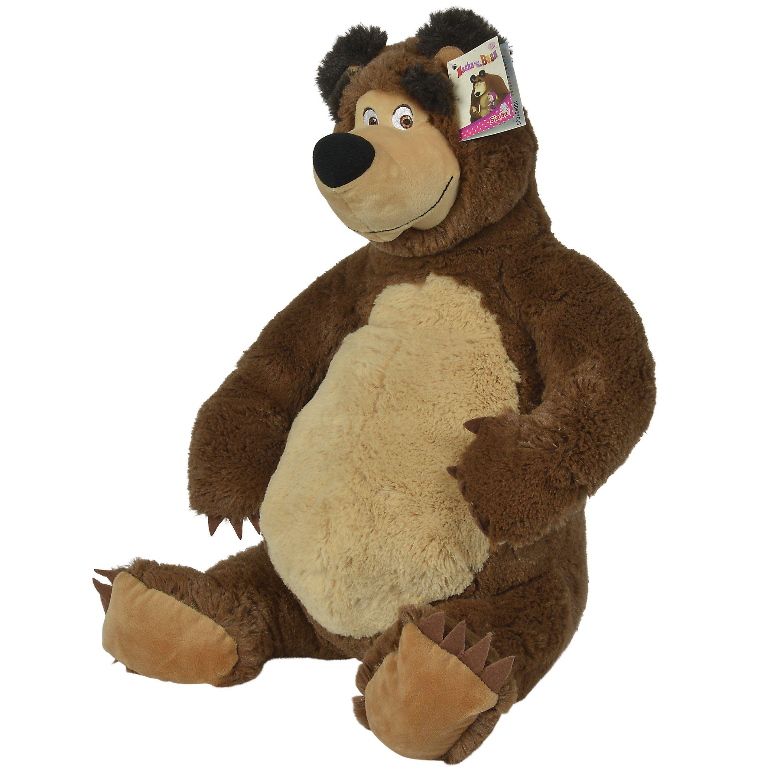 Pluszowy Niedzwiedz Misza 50 Cm Simba Masza I Niedzwiedz Maskotka Pluszak Brykacze Pl Internetowy Sklep Z Zabawkami Dla Dzieci Bear Teddy Bear Masha And The Bear