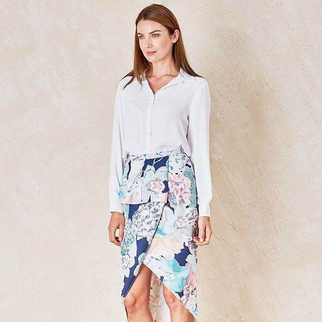 """Turn heads and be comfortable all night long without compromising your style! """"Gypset Wanderer Skirt"""" by #CooperSt available at birdsnest.com.au"""