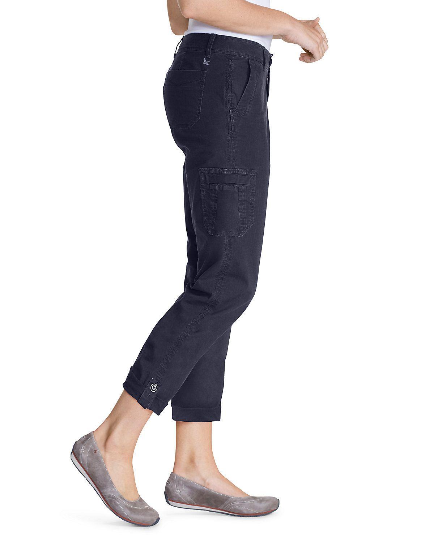 fbfea0deaa Women's Slightly Curvy Adventurer® Ripstop Crop Cargo Pants | Eddie Bauer