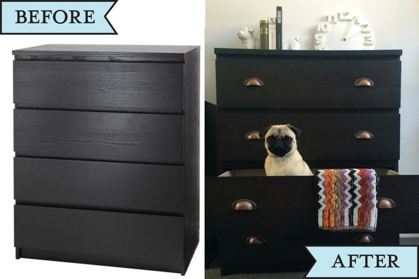 Ikea Hack Malm Drawers D I Y Ikea Furniture Makeover