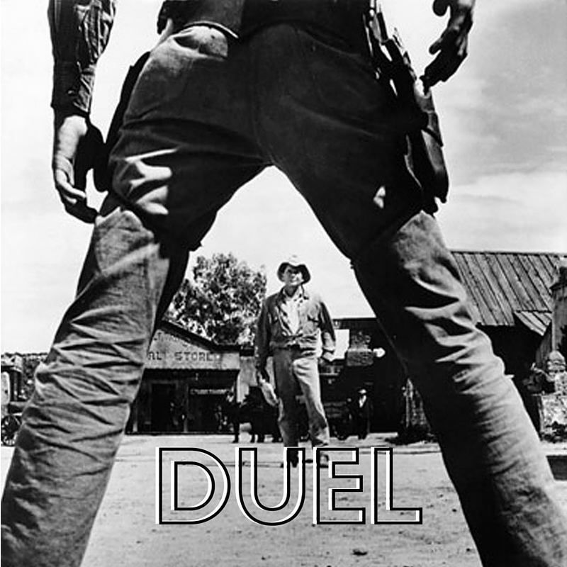 Duel is a hilarious up front game to bust out at your next gathering! #stumin #youthministry #youthgroup #duel