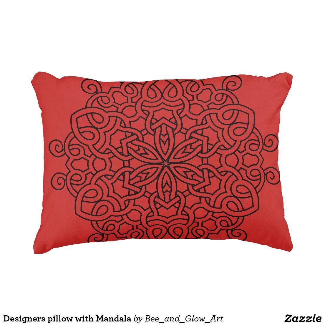 Designers pillow with Mandala