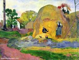Gauguin does monet/van gogh.