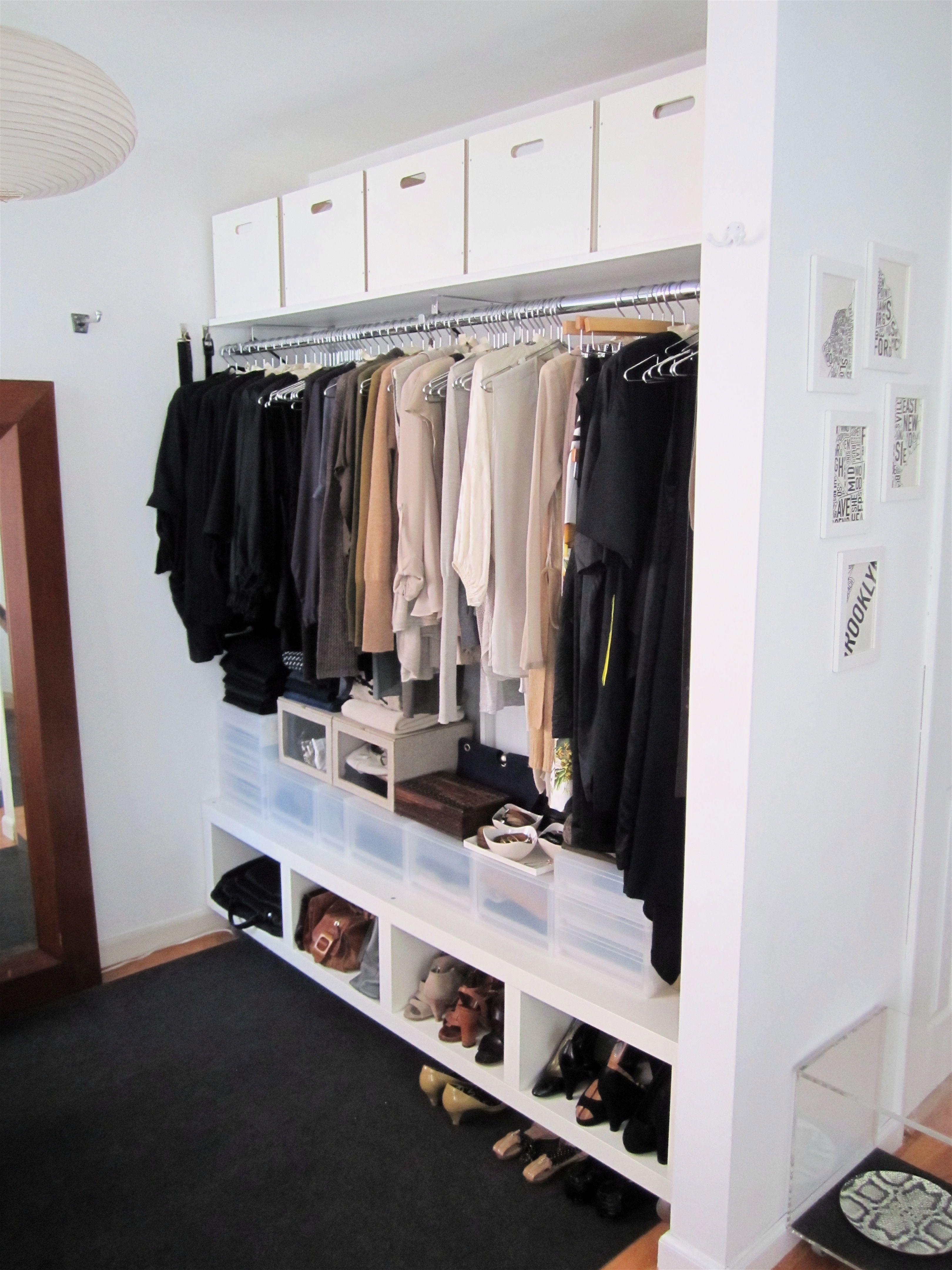 Laura Cattano S Brooklyn Alcove Studio Apartment Dressing Area