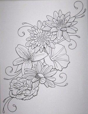 Flower Tattoo Design By Daniellehope On Deviantart Good Tattoo For